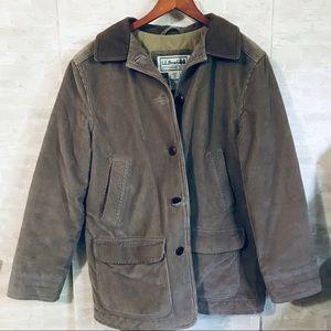 L.L. Bean brown Women's corduroy jacket medium